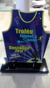 Troféu futebol 2018