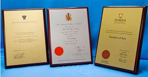 Certificado e Diplomas