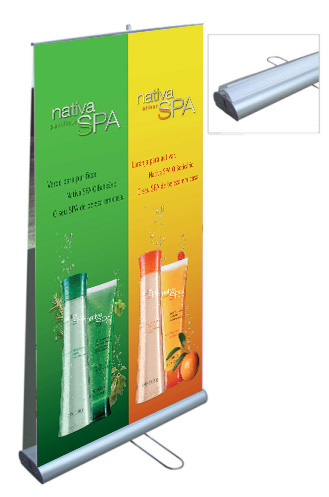 Display Roll Up Dupla Face 80x200cm
