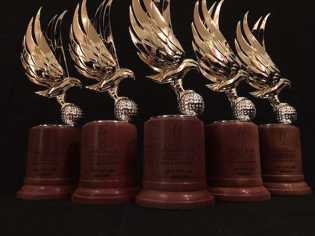 Troféu em Bronze Fundido 3d