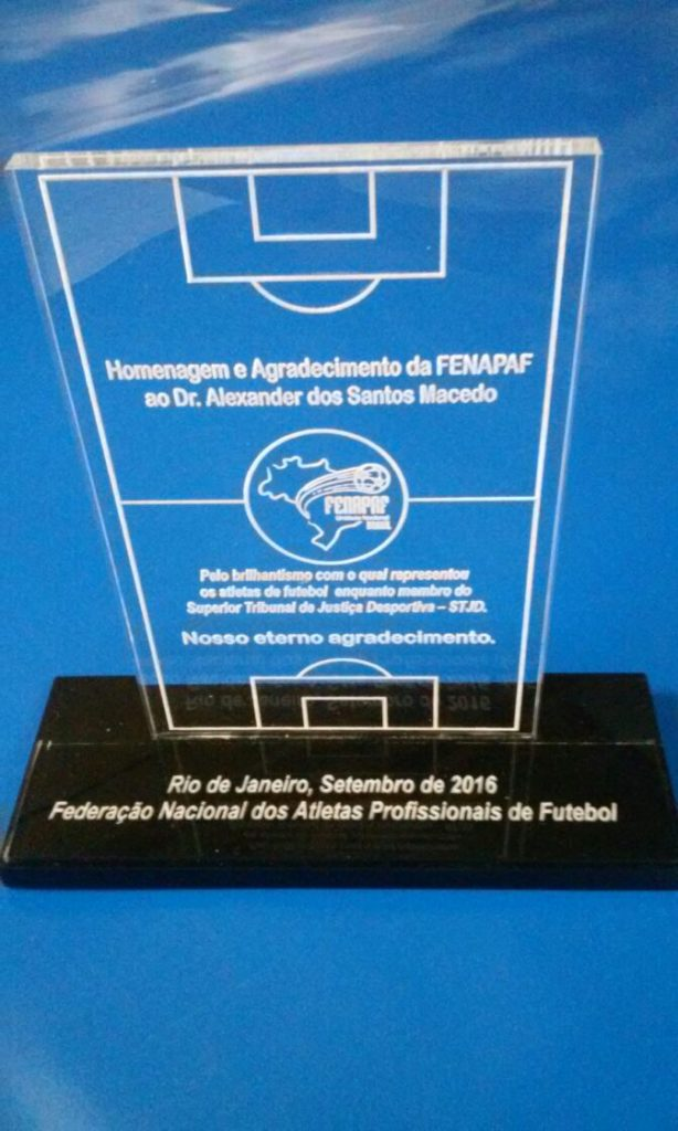 Troféu para Futebol